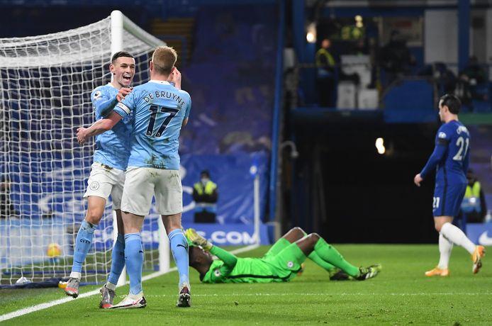 En attendant une avancée significative dans les négociations, KDB continue de régaler sur les pelouses: un but et un assist à Chelsea dimanche.