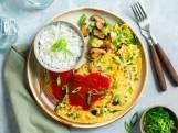Wat Eten We Vandaag: Foe yong hai met shiitakes en doperwten