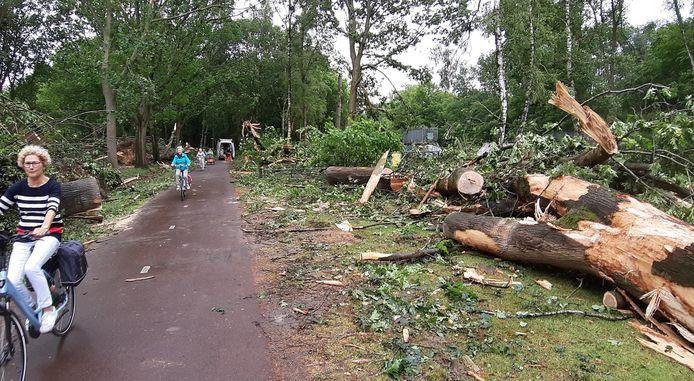 Ravage aan de Sondervick in Veldhoven