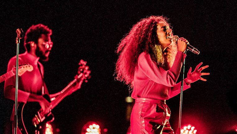 Solange Knowles eerder dit jaar op North Sea Jazz in Rotterdam Beeld anp