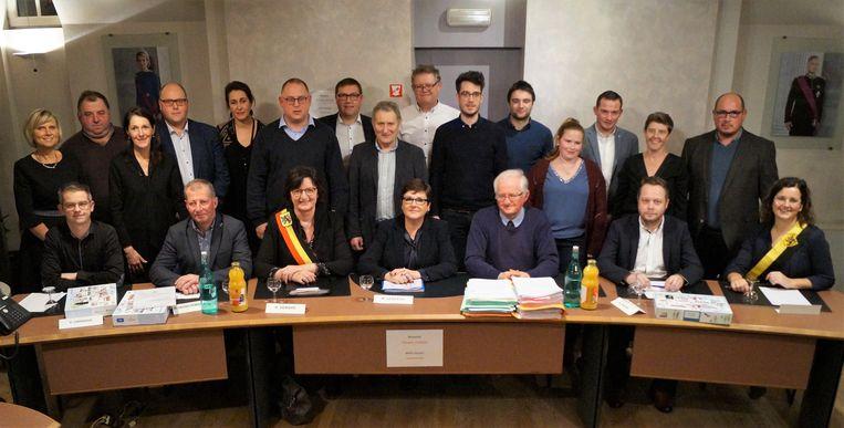 De nieuwe gemeenteraad van Hooglede