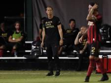 Frank de Boer en Atlanta United per direct uit elkaar