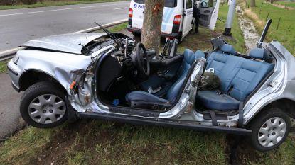 Moeder (37) overleden na klap tegen boom