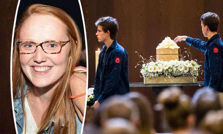 Begrafenis van Julie Roelens.