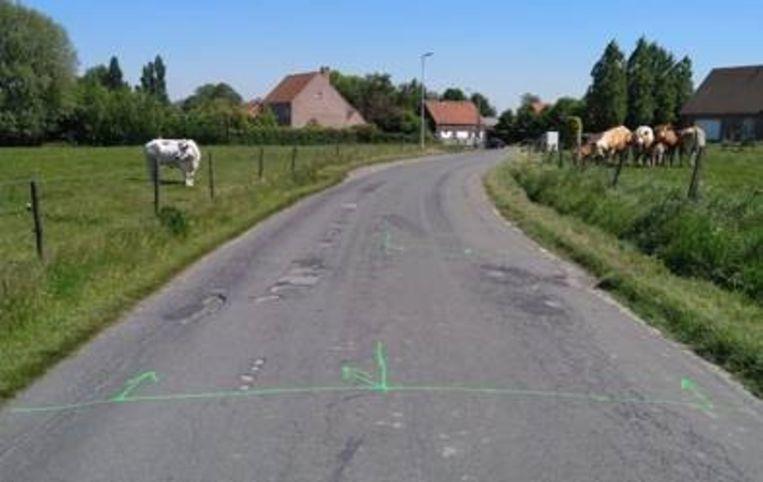 Het doel van de werken is om de veiligheid voor fietsers te verhogen.