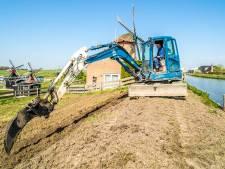 Droge dijken Midden-Delfland worden rigoureus onder handen genomen