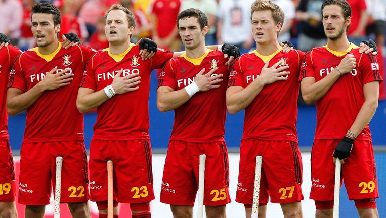 belgische hockeyploegen gaan voor olympisch ticket in