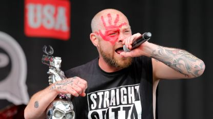 Gisteren ruziënd op podium, zaterdag op Graspop: Five Finger Death Punch