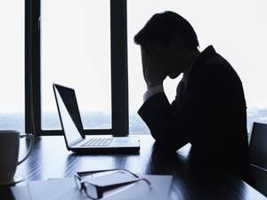 Gesloopt door de stress