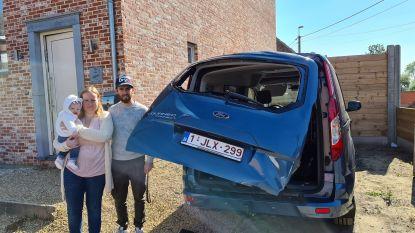 Gezin verliest op drie maanden tijd twee auto's nadat vrachtwagenchauffeurs wagen aanrijden in straat waar ze niet toegelaten zijn
