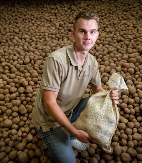 Aardappelshop: piepers per post