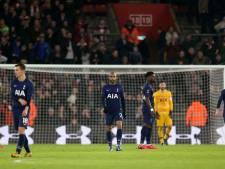 Spurs moet op herhaling na late goal Southampton