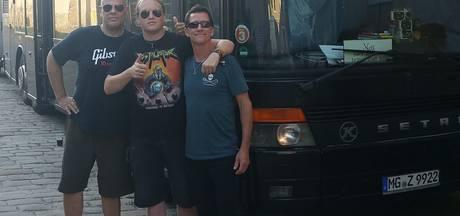Muzikant en geluidsman uit Vriezenveen toeren door Europa met Metal Church