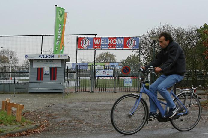 Het sportcomplex van VVA'71 in Achterberg na het faillissement.