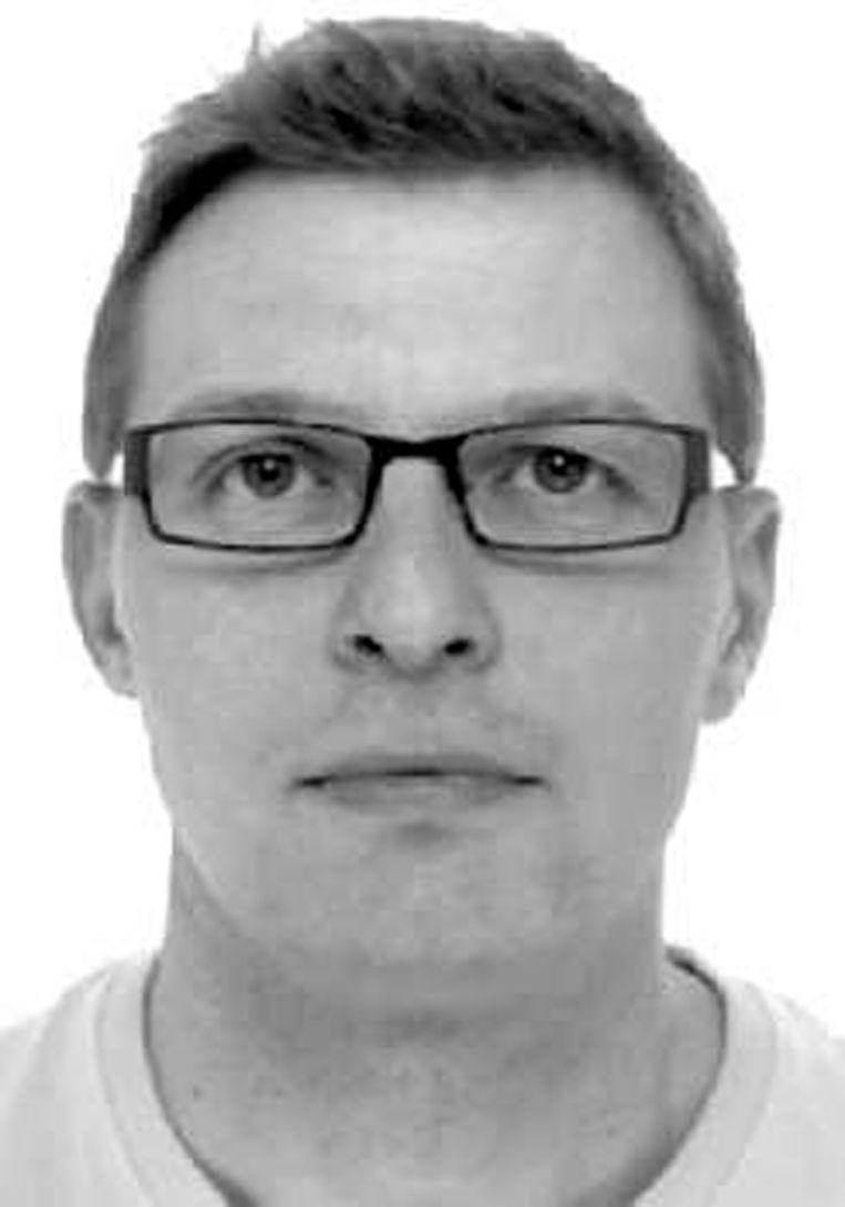 De politie is op zoek naar Bart Van Brugghe.