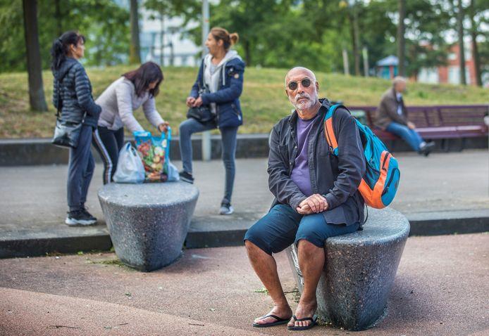 Yashar Yashar gaat niet meer weg uit Nederland. ,,Ik vind het hier leuk.''