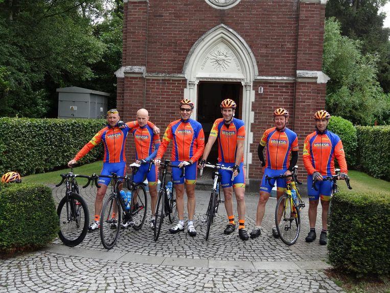 De Sappige Trappers aan de start in Neerpelt.