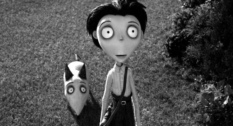 Frankenweenie van Tim Burton (2012). Beeld