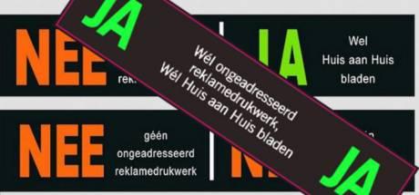 Geen ja/ja-sticker voor inwoners Mook en Middelaar