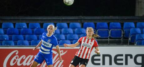PEC Zwolle Vrouwen gokt en verliest tegen PSV met geflatteerde cijfers