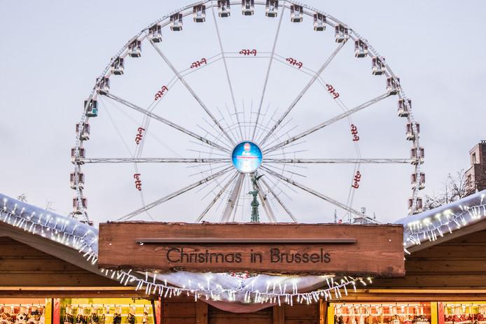 La grande roue aux Plaisirs d'Hiver, en 2018