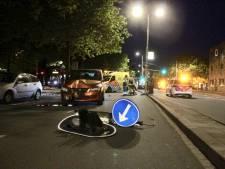 Tram botst op auto die door rood reed op de Lekstraat