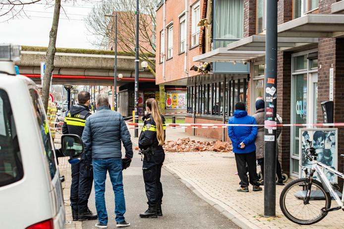 De gevel aan de Amsterdamsestraatweg.