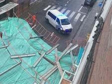 Une nouvelle tempête souffle sur la Belgique: un échafaudage s'effondre à Mons