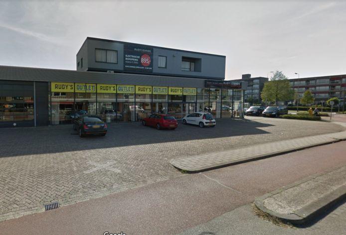 De winkel van Rudy van der Zande aan de Rijnstraat in Den Bosch.
