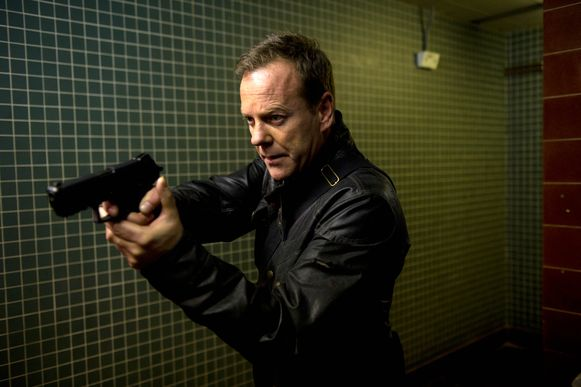 Kiefer Sutherland in '24'.