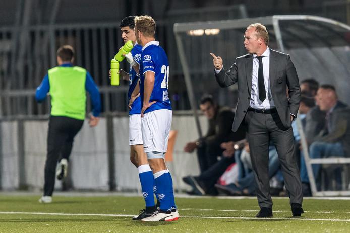 Den Bosch-trainer/coach Wil Boessen