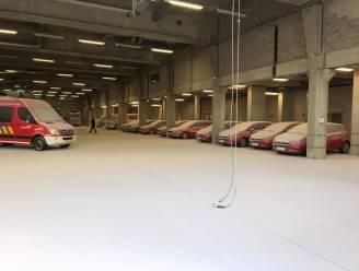Oefening loopt mis: kazerne brandweer Antwerpen lijkt wel ondergesneeuwd