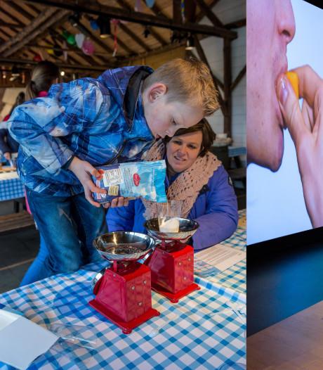 Alle zintuigen worden geprikkeld bij tentoonstelling  'Gruwelijk Lekker' in het Openluchtmuseum