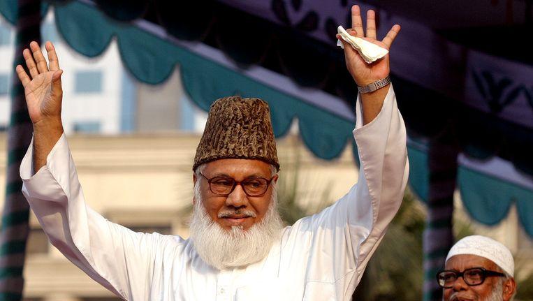 Motiur Rahman Nizami van de partij Jamaat-e-Islami.