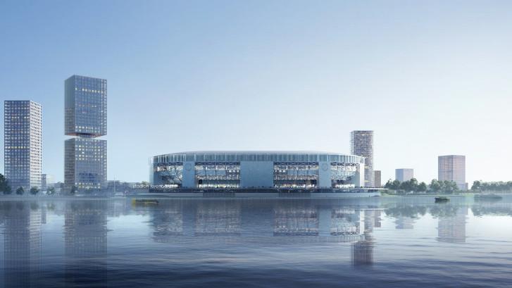 Jaar vertraging voor nieuw stadion van Feyenoord