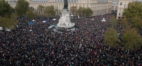 Duizenden eren door jihadist vermoorde leraar in Parijs