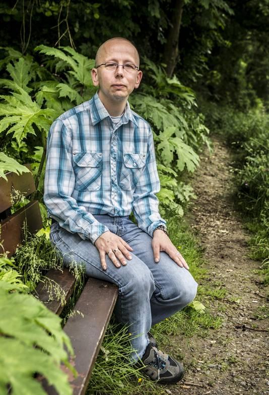 Christian Kooistra (36) wordt gepest op werk vanwege zijn homoseksualiteit.