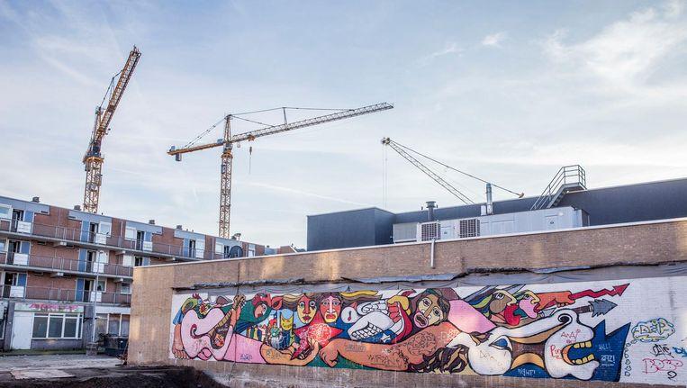 De Chileense kunstenaar dacht dat zijn muurschildering allang was verdwenen Beeld Amaury Miller