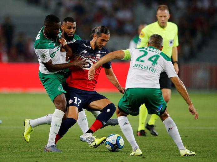 De Turkse spelmaker Yusuf Yazici is één van de nieuwe veelbelovende spelers van Lille.