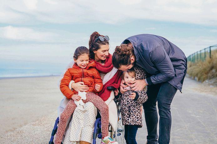 Onlangs trok Lara met haar gezin naar Oostende.