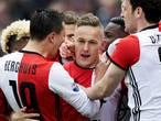 Feyenoorders hebben amper oog voor Ajax