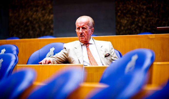 Theo Hiddema (Forum voor Democratie) tijdens het debat over de Coronacrisis.