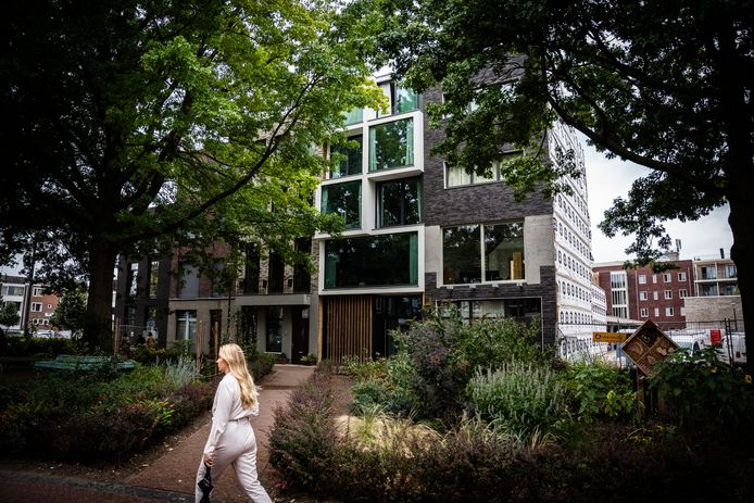 Straushaus aan de Rodenburgstraat. Ontwerp: NEXIT Architecten, opdrachtgever: particulier.
