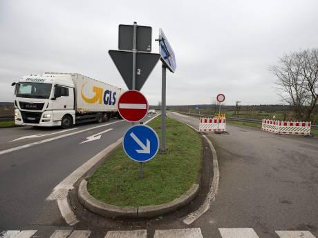 Oprit snelweg 's-Heerenberg naar Arnhem nog maanden gesloten