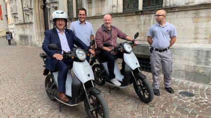 Parkeercontrole gebeurt voortaan schoner…met elektrische scooters
