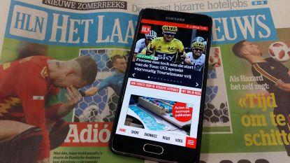 Record: 400.000 Vlamingen vinden dagelijks de weg naar onze HLN-app
