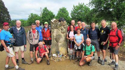 15 West-Vlamingen bereiken Compostela