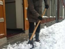 Stoep sneeuwvrij houden? Hoeft niet, en dus doet amper iemand het
