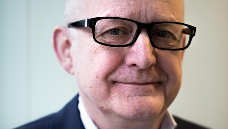 Bestuurder Clemens Blaas van HVO-Querido: 'Er verblijven nu honderden mensen in de nachtopvang, dat is suboptimale zorg' Beeld Rink Hof