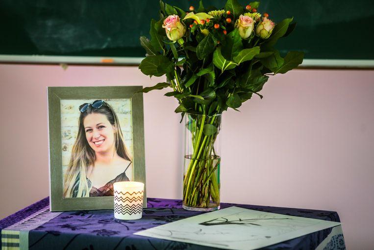 Torhout Vives richt rouwruimte in na het dodelijke ongeval van Charlotte Gysel